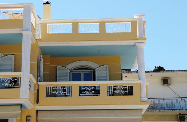 royal studio μπαλκόνι ορόφου